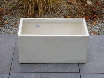 Donica ogrodowa z cementu BIGULAR piaskowa 486