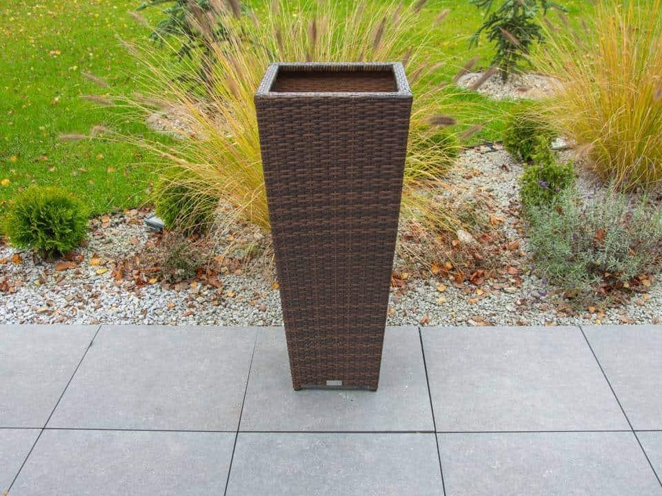Donica ogrodowa SCALEO 100cm modern brown 489