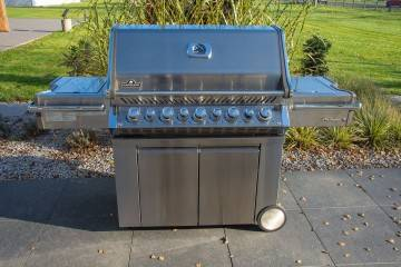 OUTLET: Grill ogrodowy gazowy PRO 665 RSIBNNS - propan-butan 355