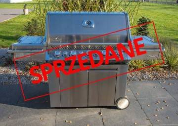 OUTLET: Grill ogrodowy gazowy PRO 665 RSIBPSS - propan-butan 419