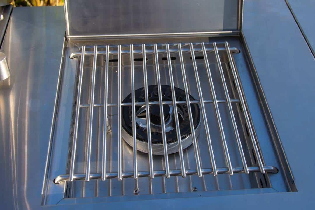 Grill ogrodowy gazowy - kuchnia BBQ TRAPANI PRO 5-palnikowa 507