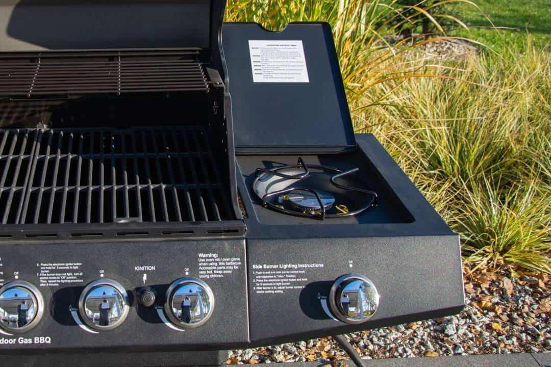 Grill ogrodowy gazowy MILAZZO 5-palnikowy 510
