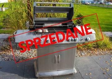 OUTLET: Grill ogrodowy gazowy CESARO PRO 6-palnikowy Onland 515