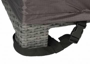 Pokrowiec na stolik 105x105x50 9116