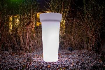 Donica FLOWER POT LED ROUND ip 65 96cm 524