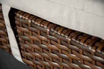 Meble ogrodowe AVEIRO + MINA modern brown 552