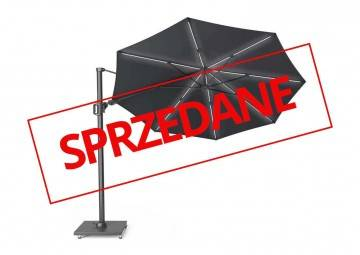 OUTLET: Parasol ogrodowy ​​​​​​CHALLENGER T2 GLOW Ø 3,5 m anthracite 7126 566