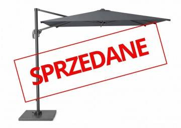 OUTLET: Parasol ogrodowy FALCON T1 2,5 m x 2,5 m anthracite 7091 573