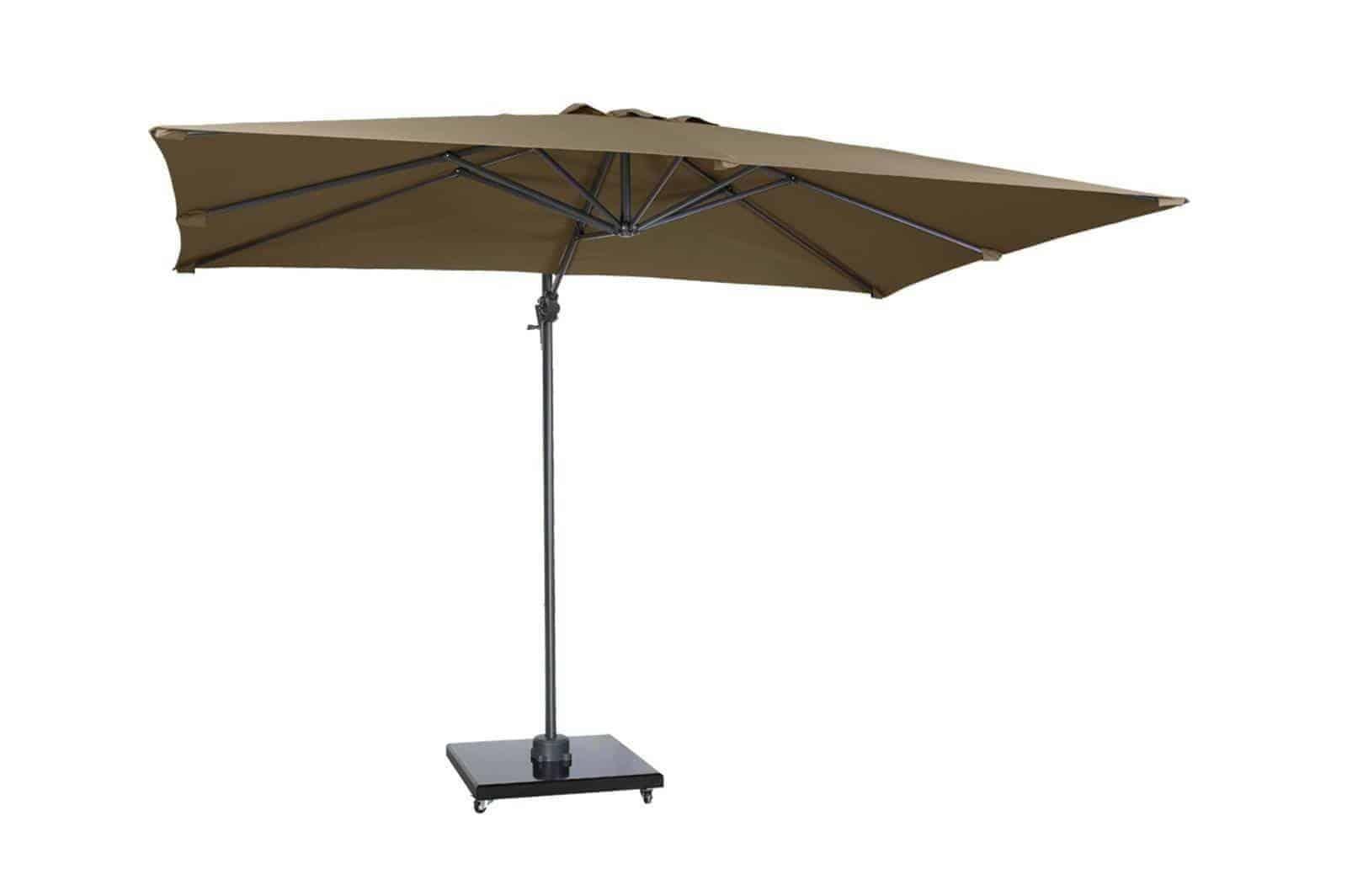 Parasol ogrodowy FALCON T1 3 m x 2 m taupe 7089E 575