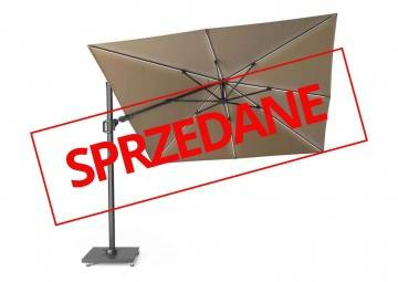 Parasol ogrodowy CHALLENGER T2 GLOW 3 m x 3 m taupe 7125E 577