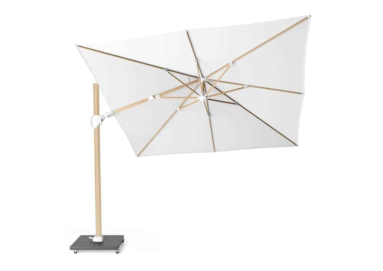 Parasol CHALLENGER T2 3 m x 3 m oak / white 7134A 578