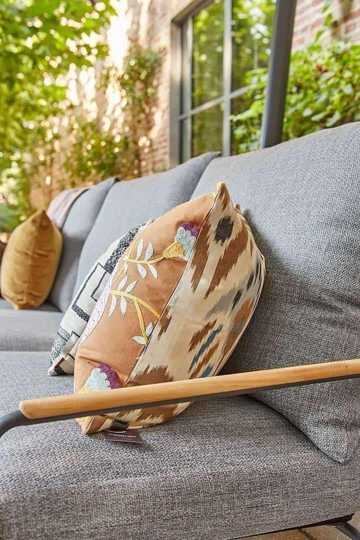 Zestaw wypoczynkowy tarasowy MERANO antracyt