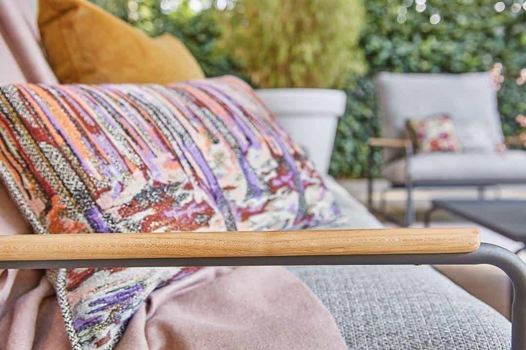 sofa na taras Merano
