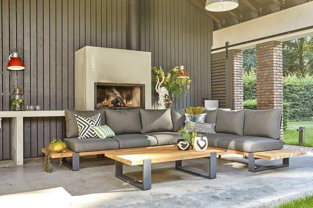 poduszki na meble ogrodowe - komplet Nardo
