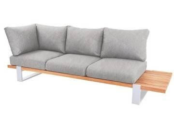 Zestaw sof na taras NARDO III biały