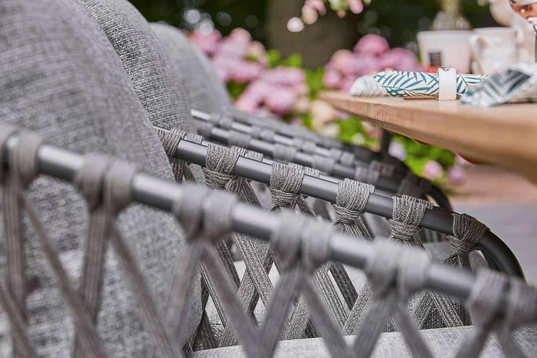 Krzesło ogrodowe NAPPA antracyt
