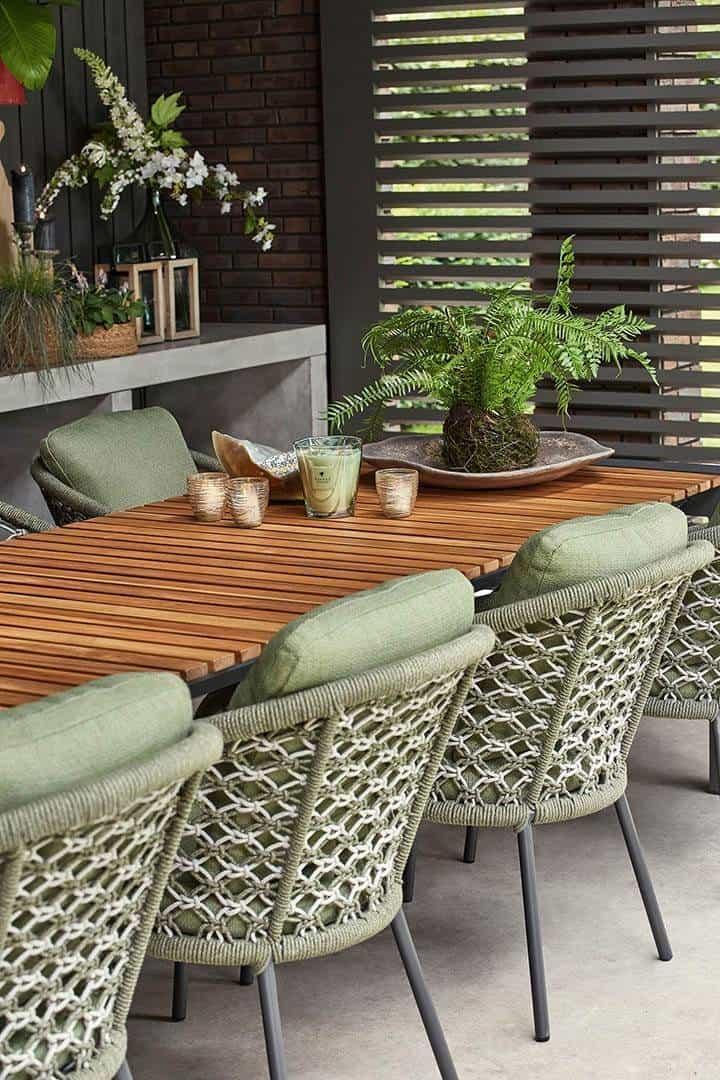Stół ogrodowy rozkładany ARONA 262 cm