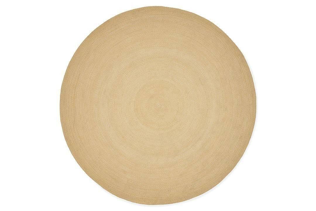 Dywan zewnętrzny Veneto ø300cm żółty