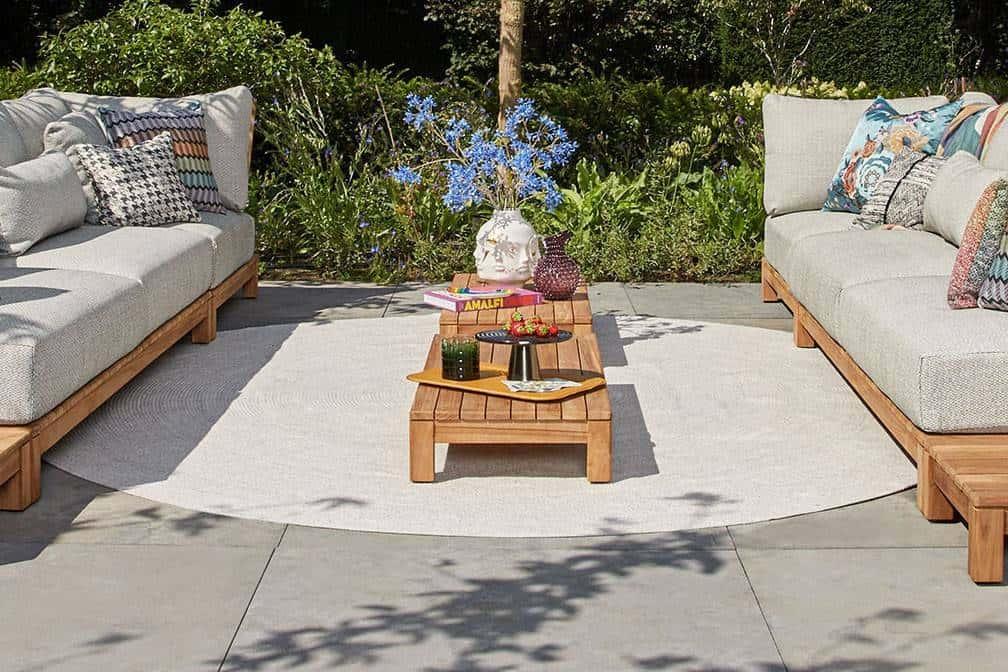 wypoczynek na balkon i dywan Venetto