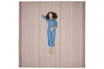 Dywan zewnętrzny Veneto 300x300cm różowy