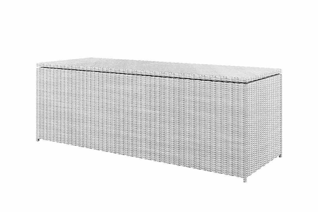Skrzynia ogrodowa SCATOLA 200cm royal biała