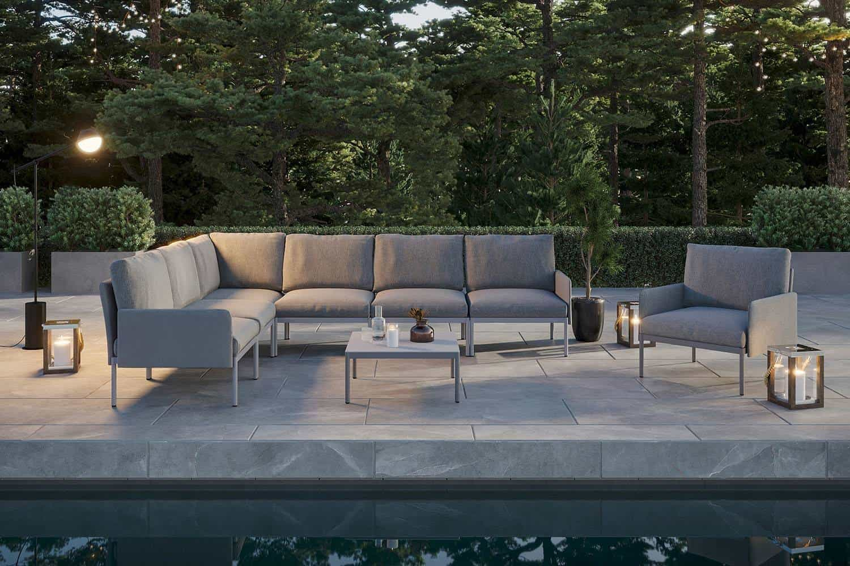 sofa na taras Arona