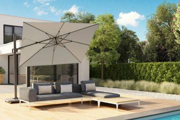 Parasol ogrodowy ​​​​​​Challenger T² 3,5m x 2,6m