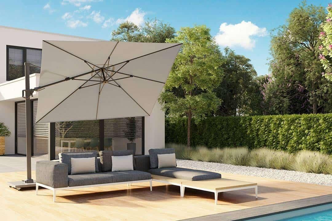 Parasol ogrodowy Challenger T² Premium 3,5m x 2,6m