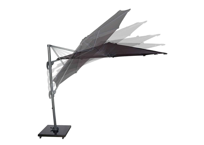 Parasol ogrodowy z regulowanym kątem nachylenia czaszy Voyager T¹ Ø3m