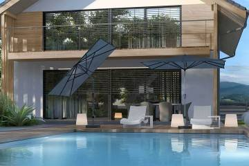 parasole ogrodowe producent: Parasol ogrodowy Riva 2,5x2m