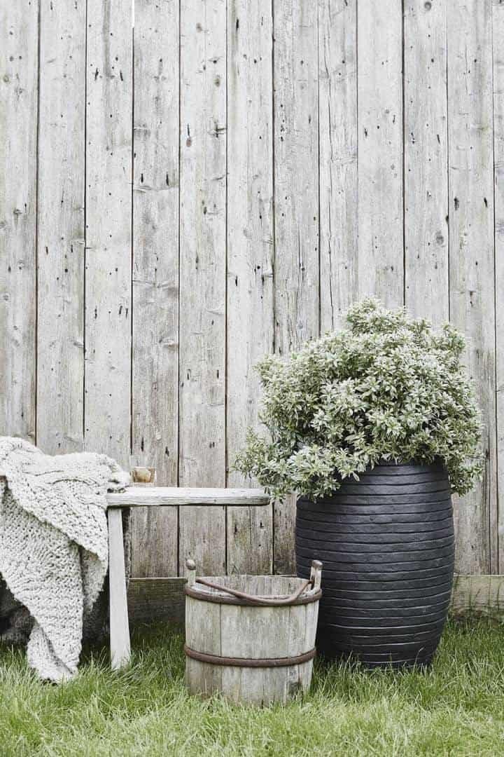 Donica ogrodowa z cementu RWG935 52cm