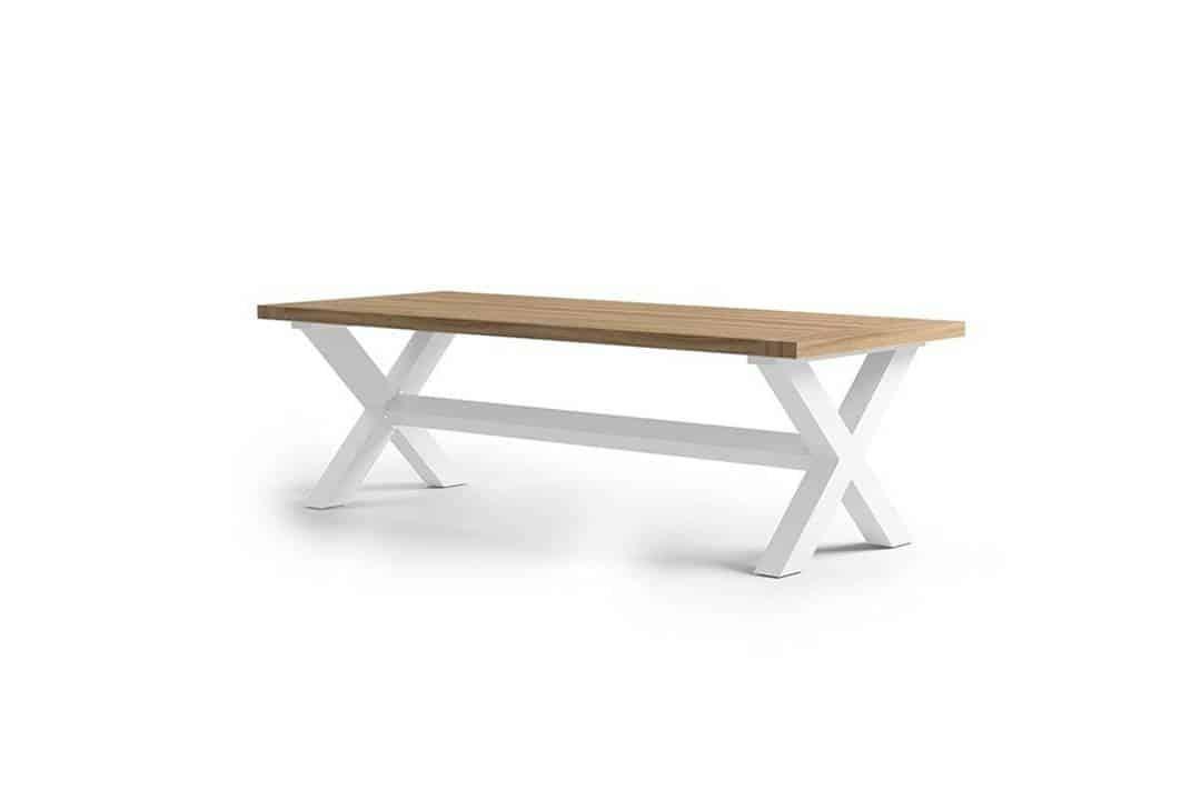 Stół ogrodowy BILBAO biały