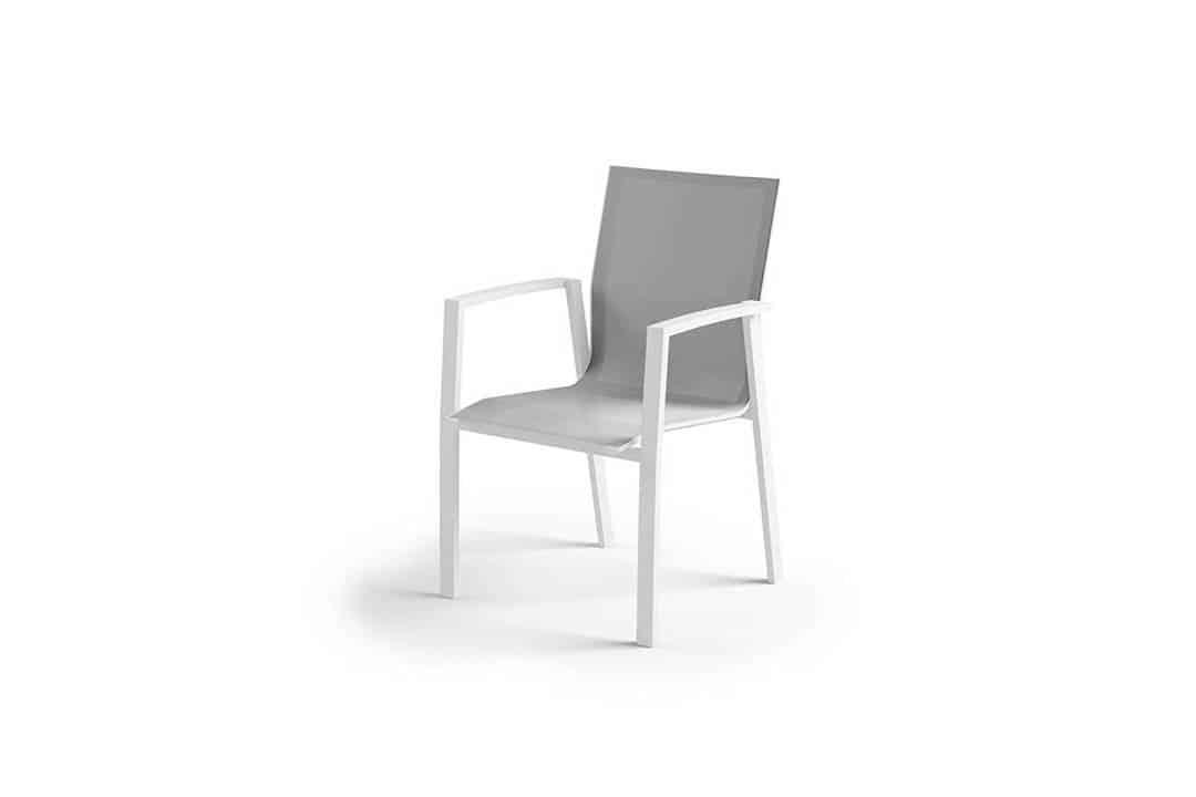 Krzesło ogrodowe LEON białe