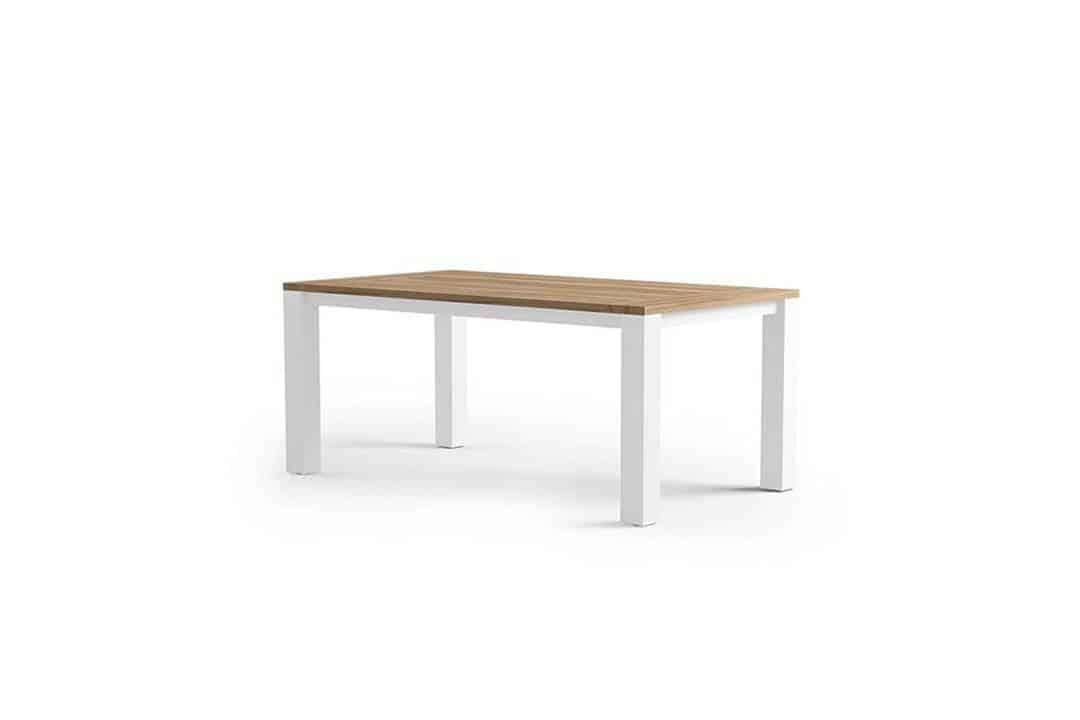 Stół ogrodowy MADRIT biały