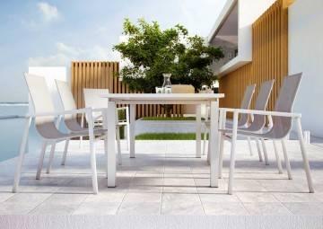 Stół ogrodowy TOLEDO biały