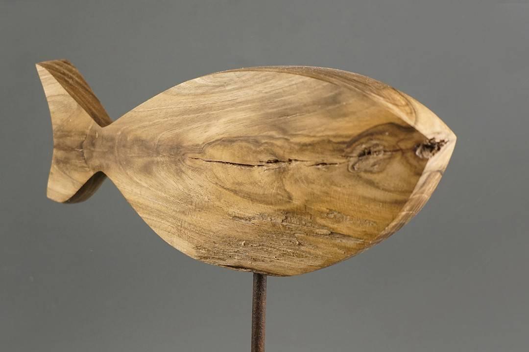 Figurka drewniana - Rybka II