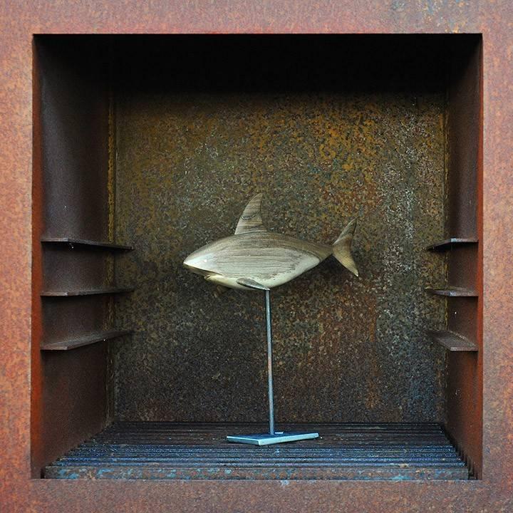 Figurka drewniana - Ptaszek III