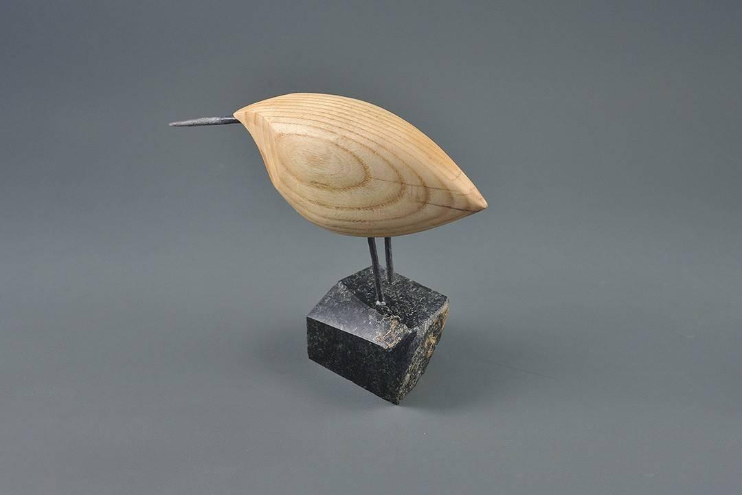 Figurka drewniana - Ptaszek XV