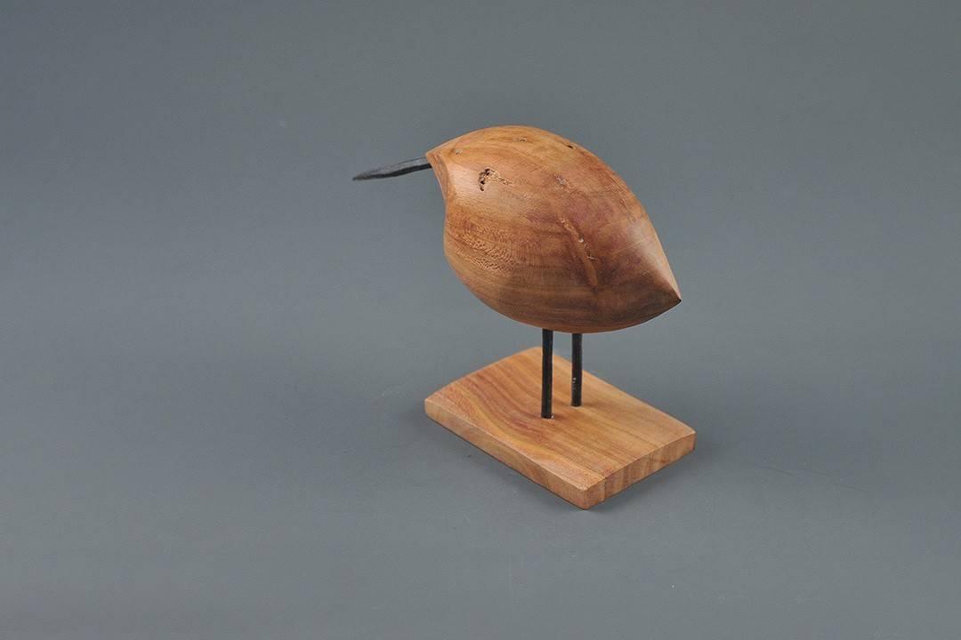 Figurka drewniana - Ptaszek XVIII