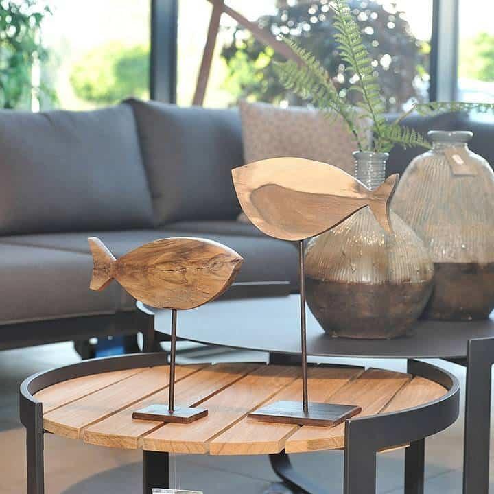 Figurka drewniana - Wróbelek II