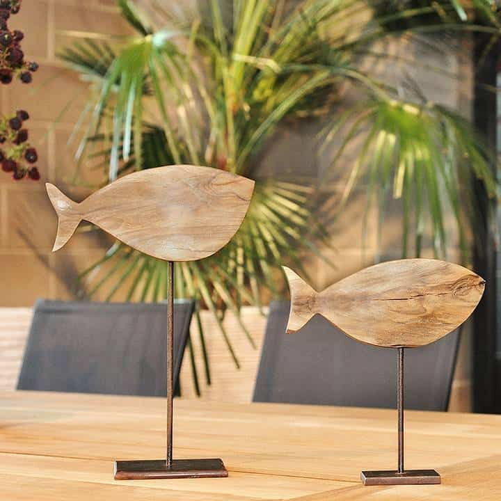 Figurka drewniana - Wróbelek VIII