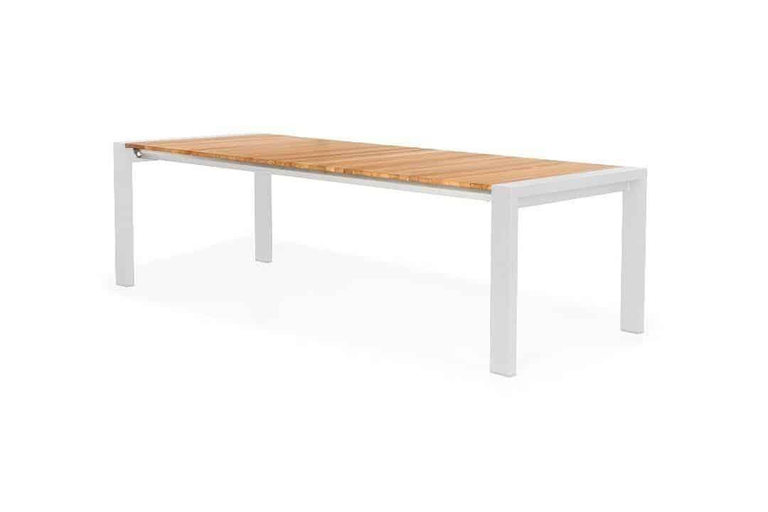 Stół ogrodowy rozkładany RIALTO 212 cm biały
