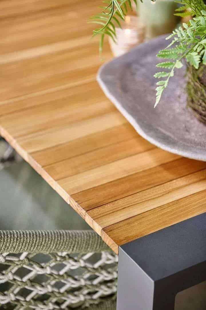 Stół ogrodowy rozkładany RIALTO 217 cm biały