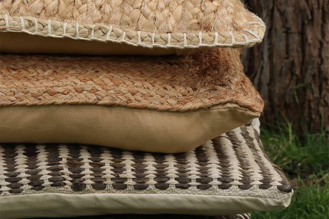 Poduszka ogrodowa dekoracyjna Mare kość słoniowa