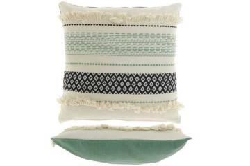 Dekoracje: Poduszka ogrodowa dekoracyjna Levon oliwkowa