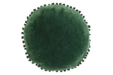 Dekoracje: Poduszka ogrodowa dekoracyjna Bila butelkowa zieleń