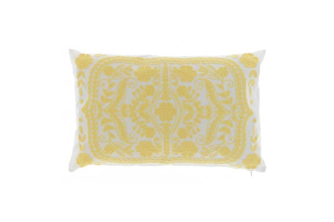 Poduszka ogrodowa dekoracyjna Mena żółta