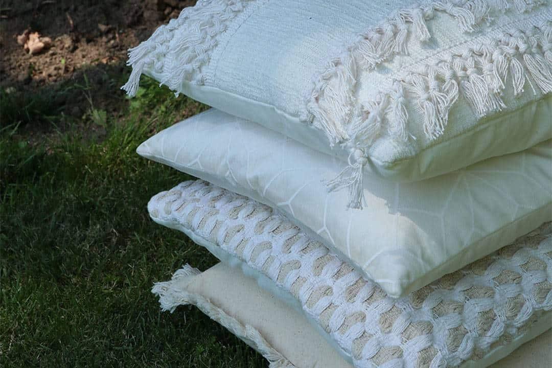 Poduszka ogrodowa dekoracyjna Renzo pudrowy róż