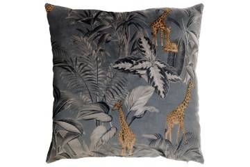 Dekoracje: Poduszka ogrodowa dekoracyjna Flit szara