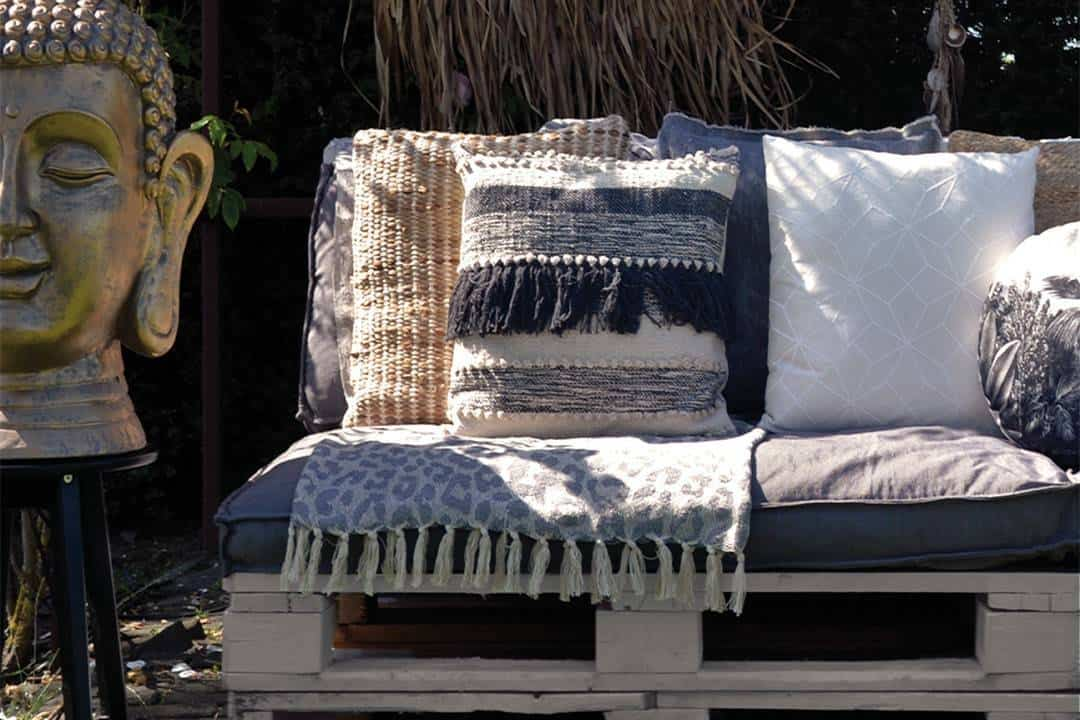 Poduszka ogrodowa dekoracyjna Jori zielona herbata
